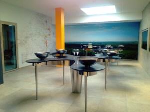new tasting room