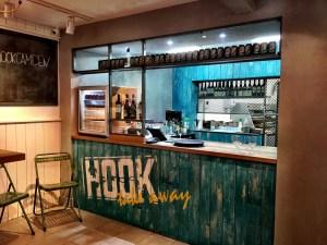 Kitchen at Hook restaurant Camden London