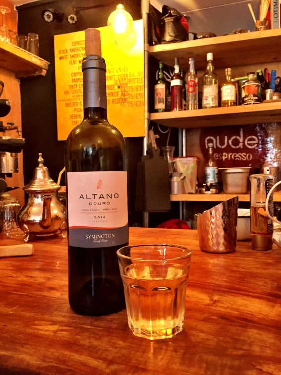 the Altano white from the Douro at Artworks Elephant