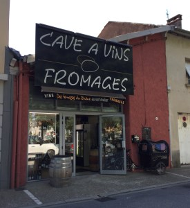 Balades Viticoles, wine and bike shop in Hermitage, Rhone Valley, France, wine