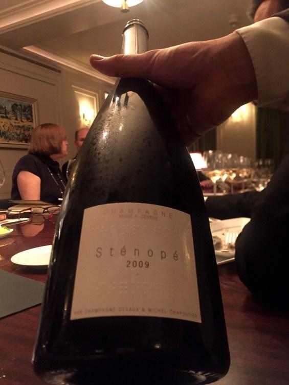 Champagne Devaux, Stenope 2009, vintage champagne Devaux