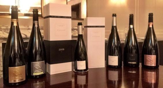 the range of Devaux champagne