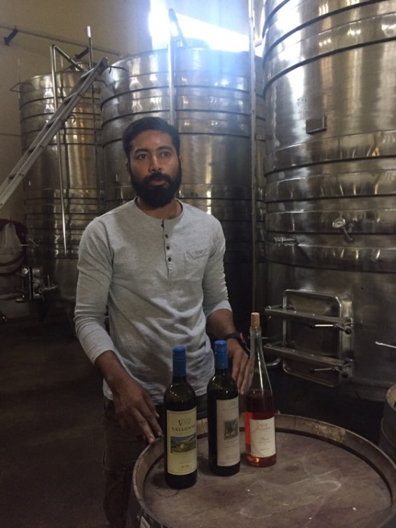 Sanket Gawand, winemaker at Vallone Vineyards, winery, Nashik Valley, Maharashtra, India, Indian Wine