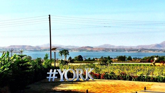 the view from the York Winery tasting room, Nashik Valley, Maharashtra, India, Indian Wine