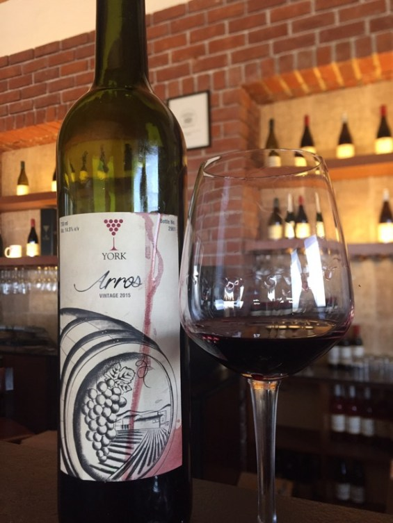 York winery flagship wine, Arros, a red blend, Nashik Valley, Maharashtra,India, Indian Wine