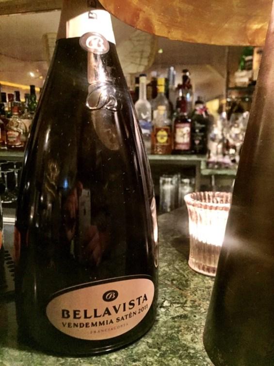 Franciacorta, Bellavista Vendemmia Saten 2011, Margot restaurant, Covent Garden, London