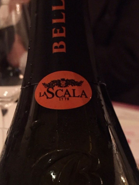 Franciacorta, La Scala 2011, Margot Restaurant,Covent Garden, London