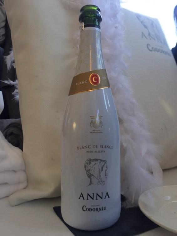 Anna de Codorniu blanc de blanc cava, Doubletree Hilton, London
