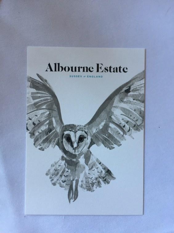 wine label, Albourne Estate, Sussex, England, English Vineyard