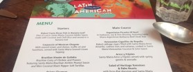 Dinner with Santa Maria's new Latin American Kitchen range