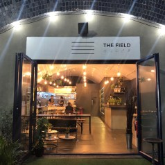 The Field in Hackney, Plant based cuisine