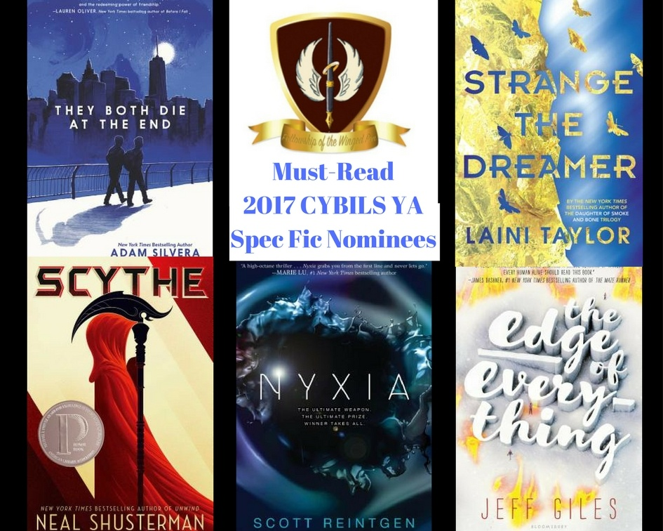 5 Must Reads from the 2017 CYBILS YA Speculative Fiction