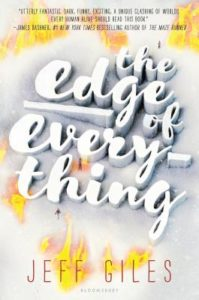 The Edge of Everything, CYBILS, YA books, speculative fiction