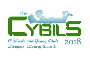Cybils Book Awards logo 2018, Children's and Young Adult Bloggers' Literary Awards