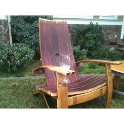Adirondack Wine Barrel Chairs Camouflage Recliner Chair