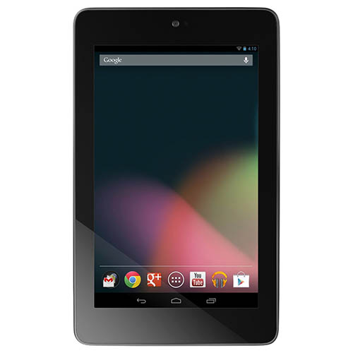 1. Asus Nexus 7 Tablet 32GB, Black