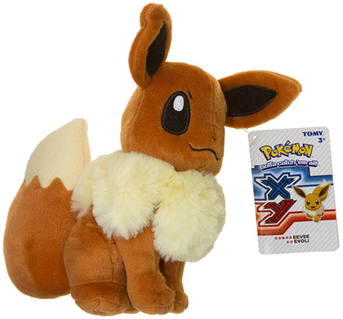 5. TOMY Pokemon Eevee Plush