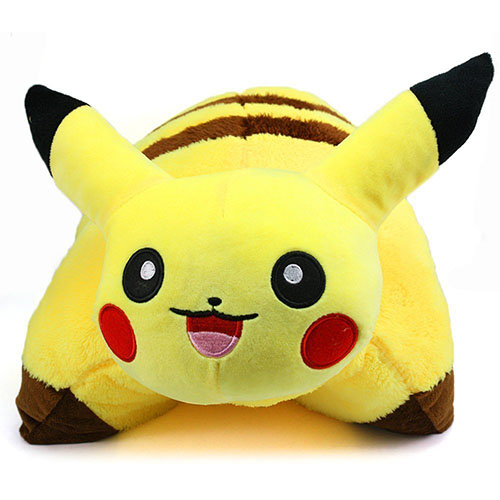 8. New Pikachu Pokemon Cushion Soft Plush Pillow
