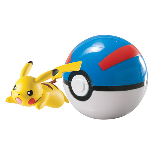 7. Pokémon Clip And Carry Pikachu Ball