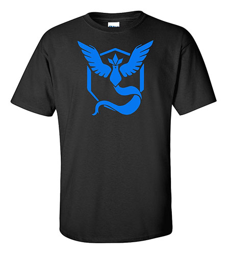 4. Go Team Mystic Black Shirt