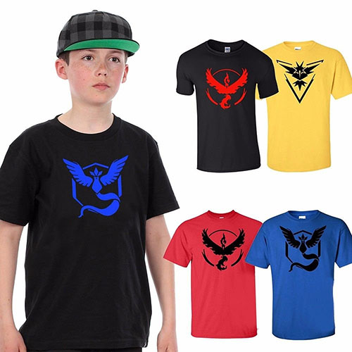 9. Official Pokemon Kids T-Shirt