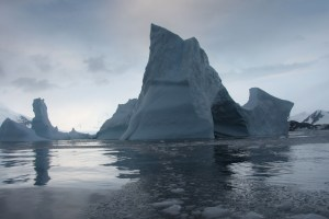 Antarctica's Larsen B Ice Shelf is likely to shatter into hundreds of icebergs before the end of the decade, according to a new NASA study. Credits: NSIDC/Ted Scambos