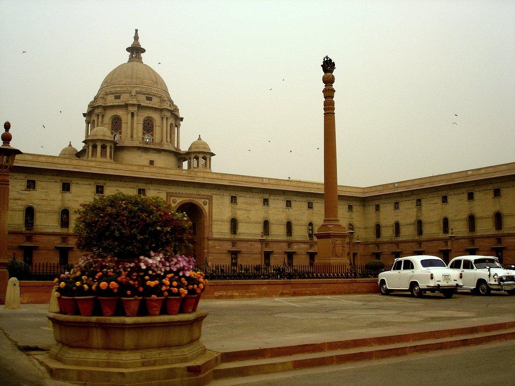 Secretariat Building, South Block. Credit: Wikimedia Commons