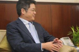 China's Ambassador to India Le Yucheng. Credit: PIB