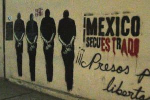 Protest art in the streets of Mexico. Credit: Wikimedia Commons