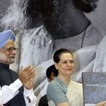 Former Prime Minister Manmohan Singh and Congress President Sonia Gandhi. Credit: Wikimedia Commons