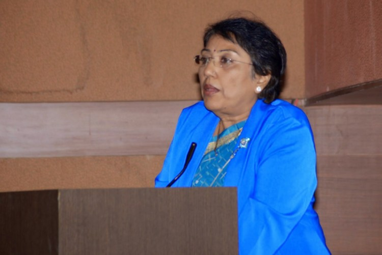 Jyotsna Yagnik, former judge, now head of the United World