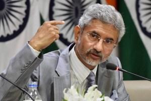 Foreign Secretary S Jaishankar.