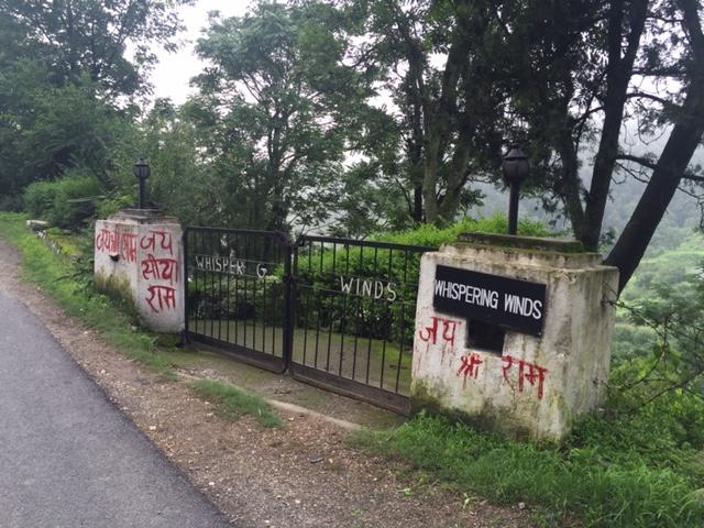 Vandalism of the author's home in Himachal Pradesh