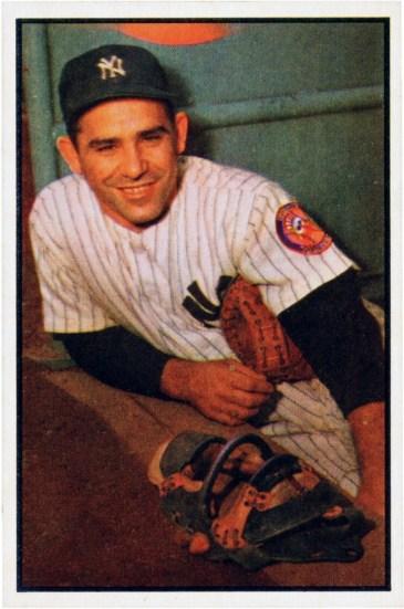 Yogi Berra in 1953. Credit: Wikimedia