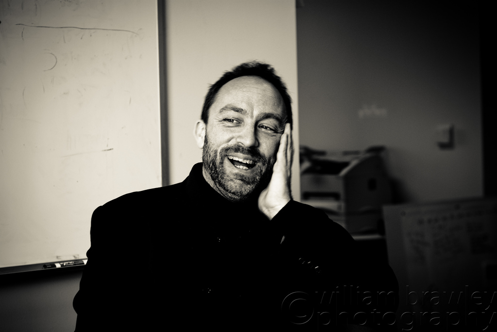 Jimmy Wales, 2009. Credit: williambrawley/Flickr, CC BY 2.0
