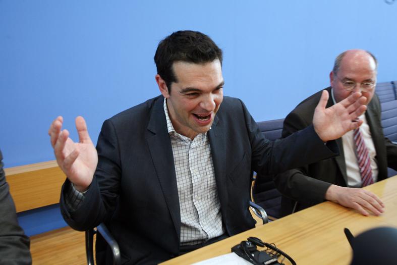 The one who got away: File photo of Greek prime minster Alexis Tsipras. Credit: Fraktion DIE LINKE. im Bundestag/Flickr CC 2.0