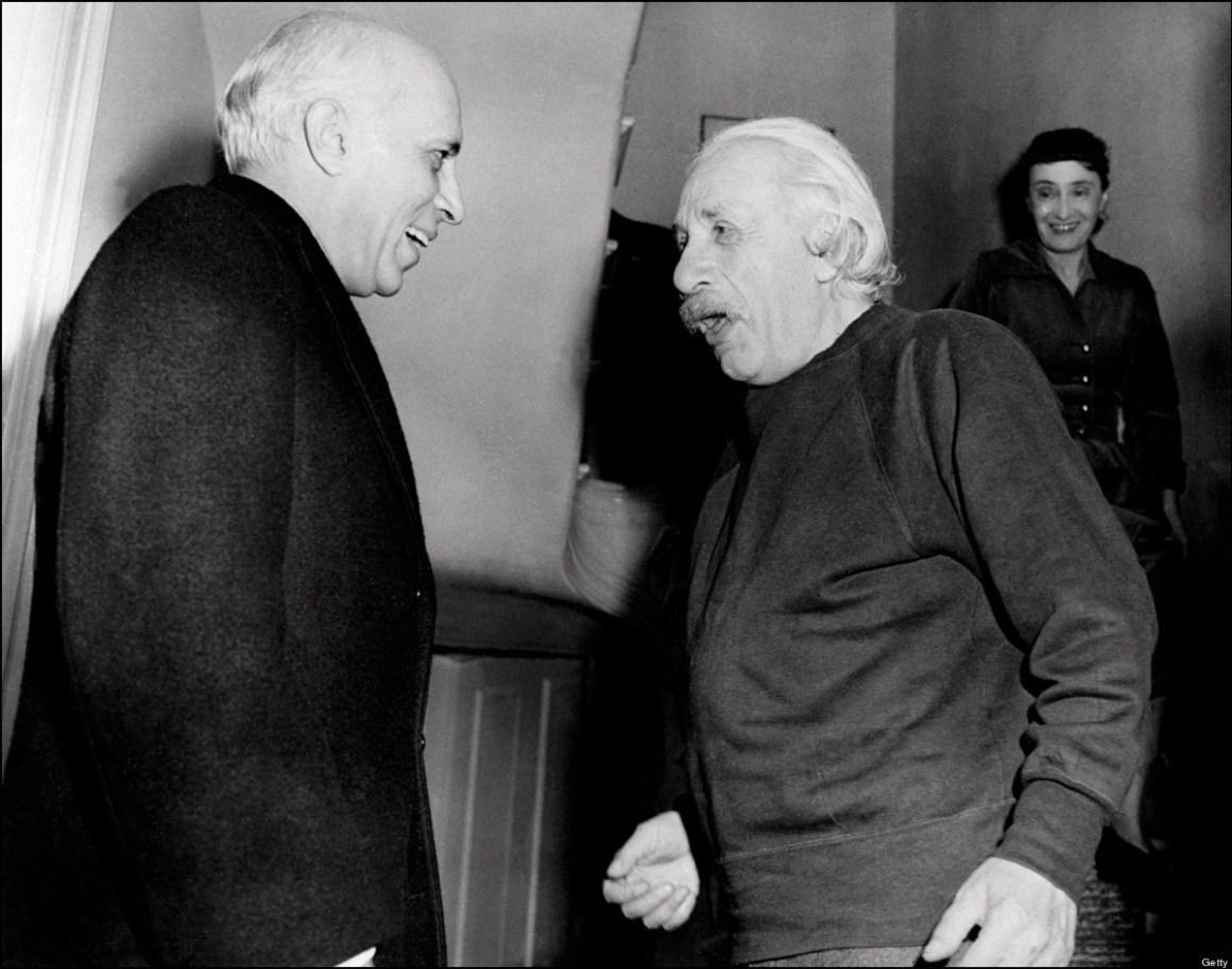 Jawaharlal Nehru and Albert Einstein