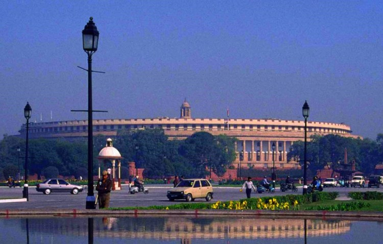 Indian Parliament. Credit: Sarvagnya/Wikimedia Commons, CC BY-SA 3.0