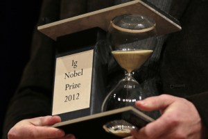 The 2012 IgNobel Prize. Source: UCSB