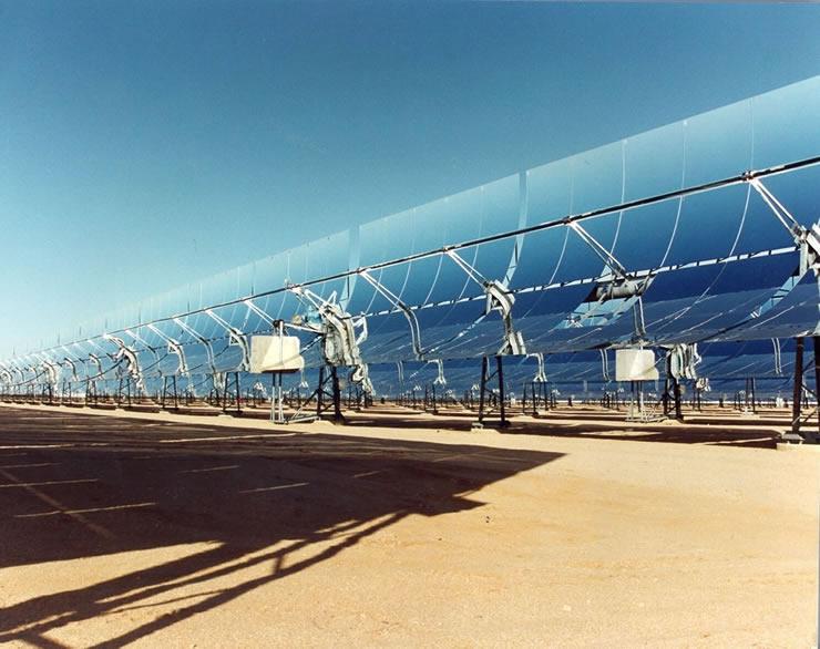 A solar power plant. ©UNEP