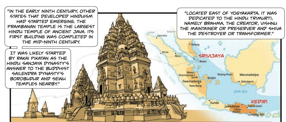 comic hindu temple