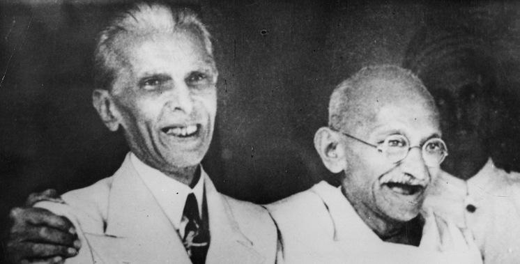 Mohammed Ali Jinnah with Mahatma Gandhi (Photo: Wikipedia Commons)