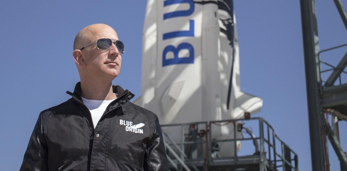 Jeff Bezos. Source: Blue Origins
