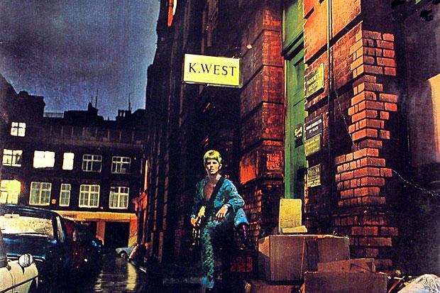 Cover of David Bowie's album Ziggy Stardust
