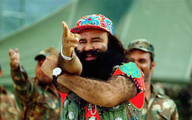 A still from the film MSG: The Messenger starring Gurmeet Ram Rahim Insan