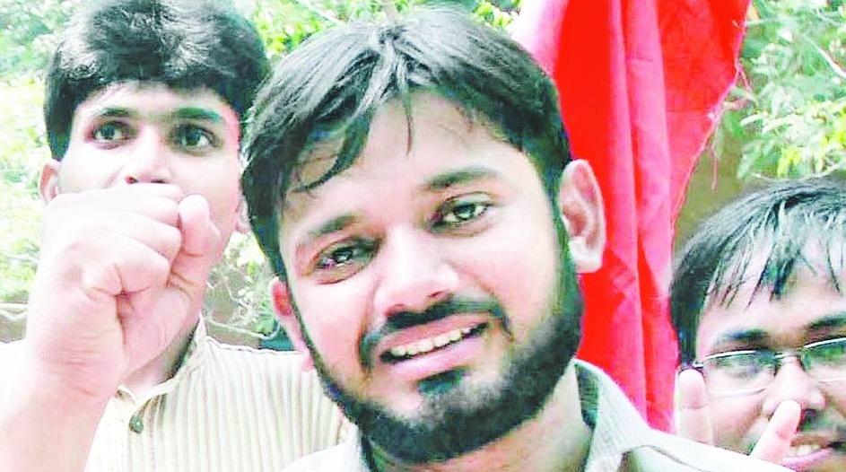 JNUSU president Kanhaiya Kumar. Credit: Facebook