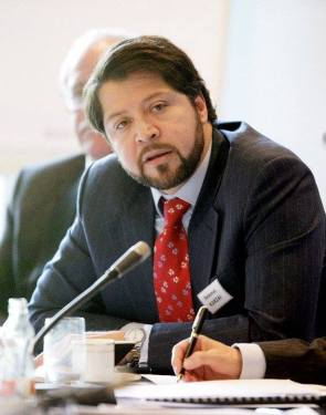 Hekmat Khalil Karzai, Afghanistan's deputy foreign minister and leader of the government delegation at the peace talks with the Taliban. Credit: Facebook