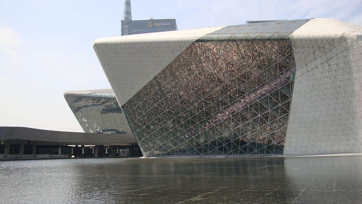 Guanzhou Opera House, Guanzhou, China