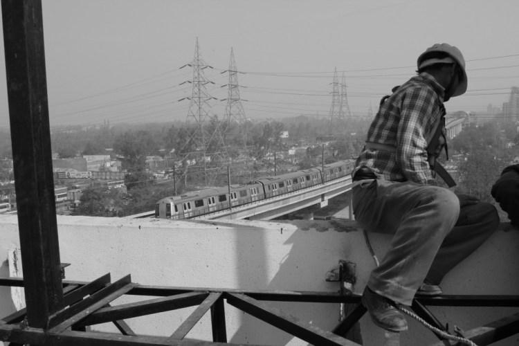 The big infrastructure push. Credit: Shome Basu