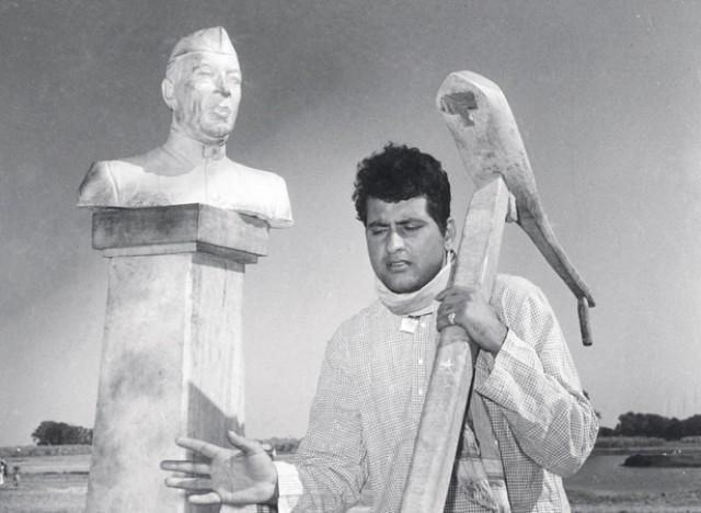 A still from Manoj Kumar's film Upkar